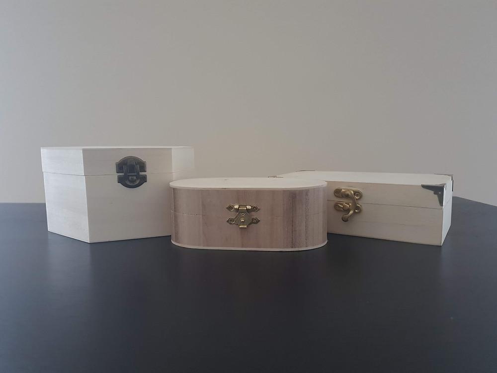 The Works - Hexagonal Box, Oval Box, Rectangular Box