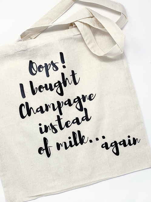 Oops! I Bought Champagne