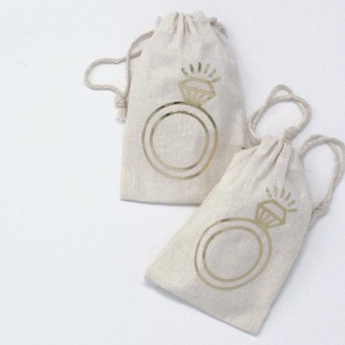 """Ring"" Jewelry Bag"