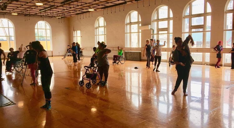 So, You Think I Can't Dance - a dance workshop for those with special needs.