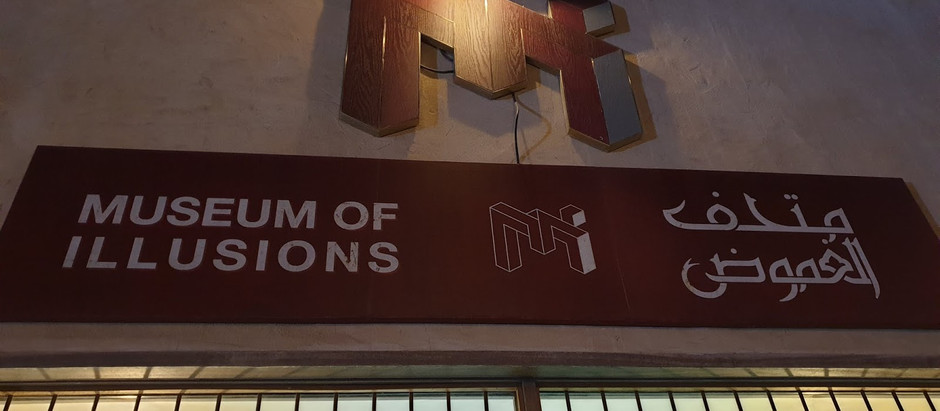 Museum of Illusions, Dubai - a treat for all age groups