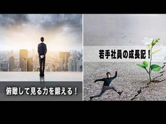 【若手社員の成長記!】「第22回:俯瞰して見る力を鍛える!」~ビジネス能力に直結する「俯瞰力」とは?~