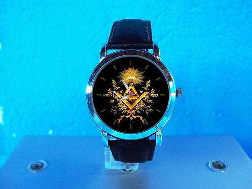 Maçon Dourado 3499G Preto