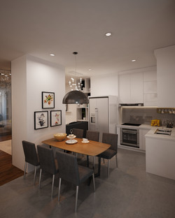 Living, Kitchen & Dinning Area