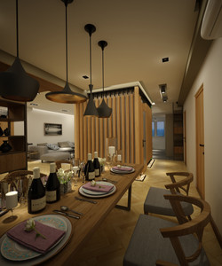 Living & Dinning Area