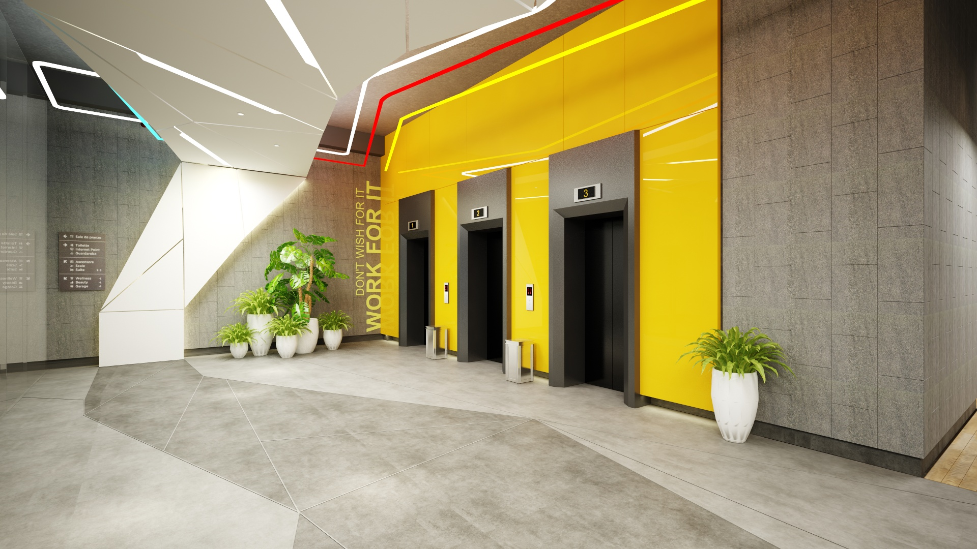 Lobby Tầng 1