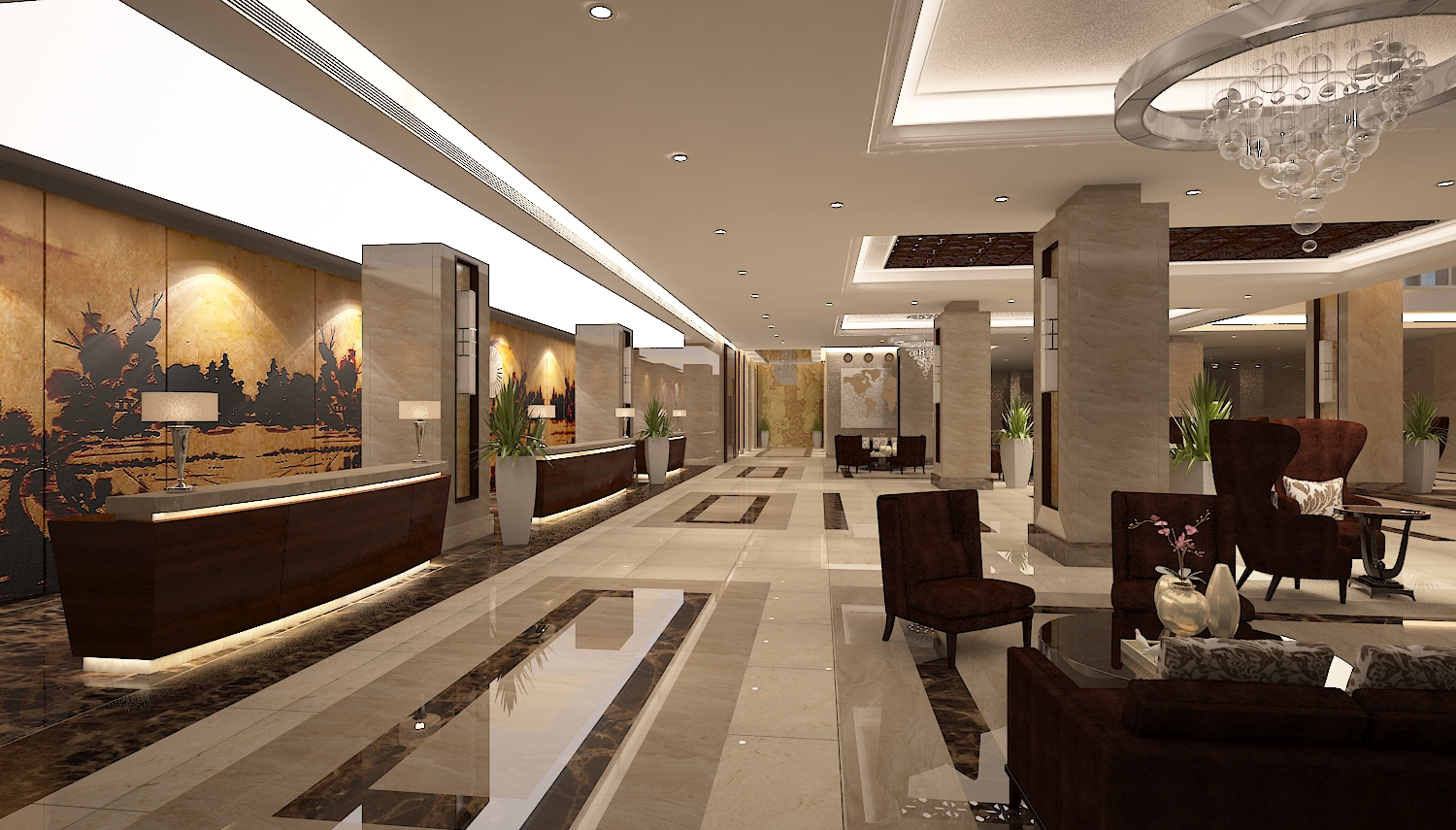 Main Lobby & Reception