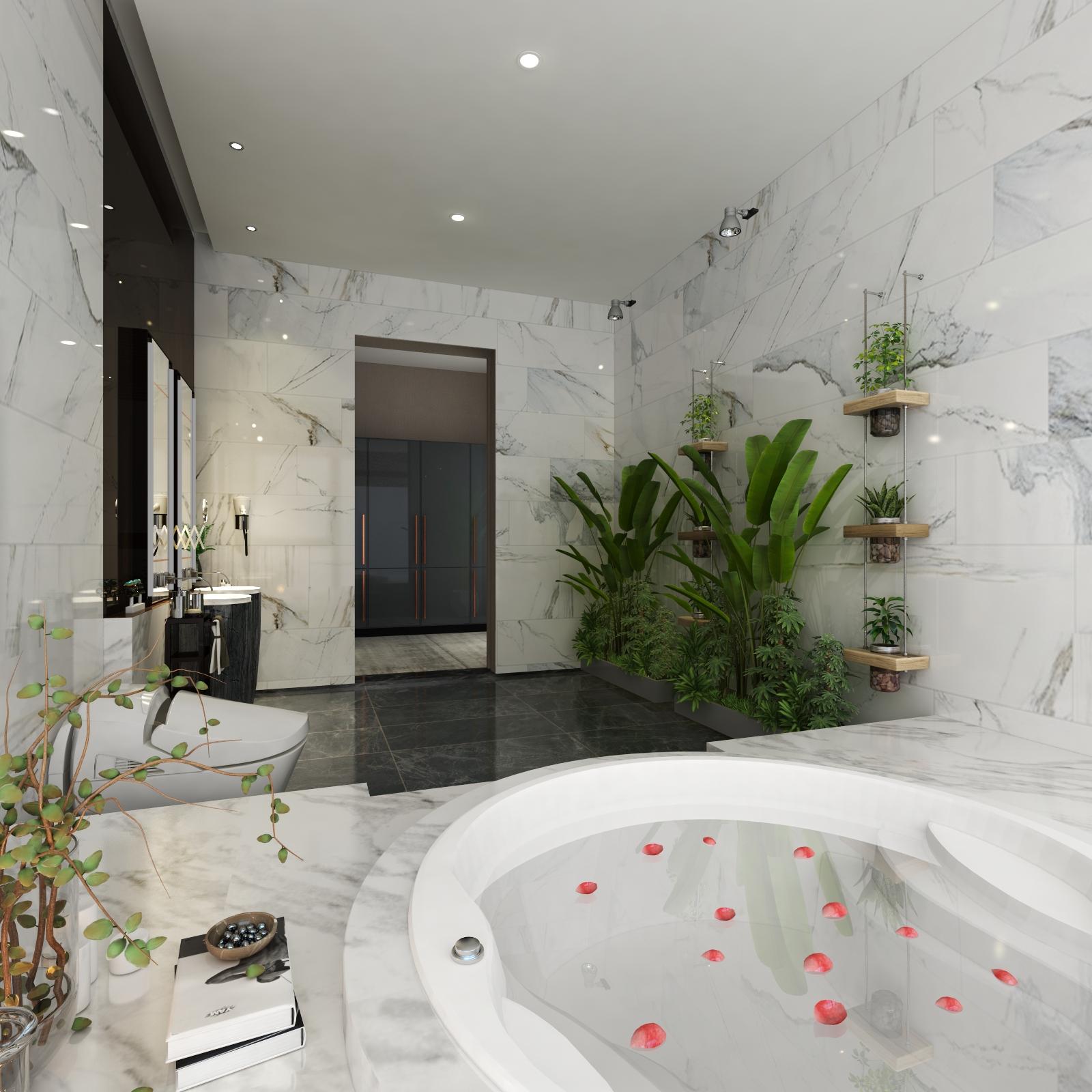 Phòng Tắm Chủ Tịch