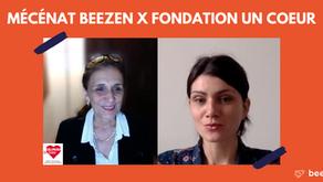 Beezen soutient la Fondation Un Coeur