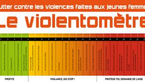 Le violentomètre : un outil pour aider les jeunes femmes à sortir des relations toxiques.