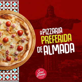 A PIZZA PREFERIDA DE ALMADA