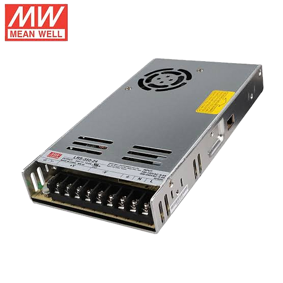 MW Enclosed 24VDC 350w PSU (LRS-350-24)