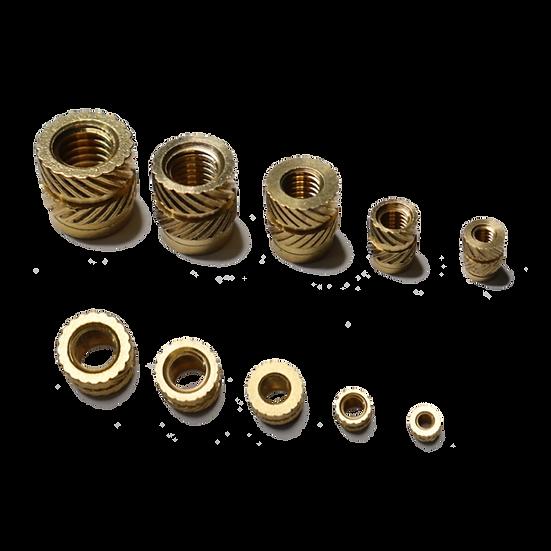 Brass 3D printing nutserts