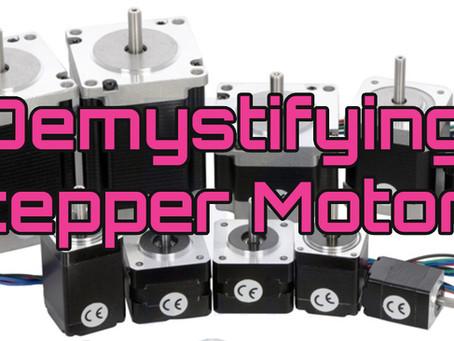 CNC Stepper Motors - A machine builders guide