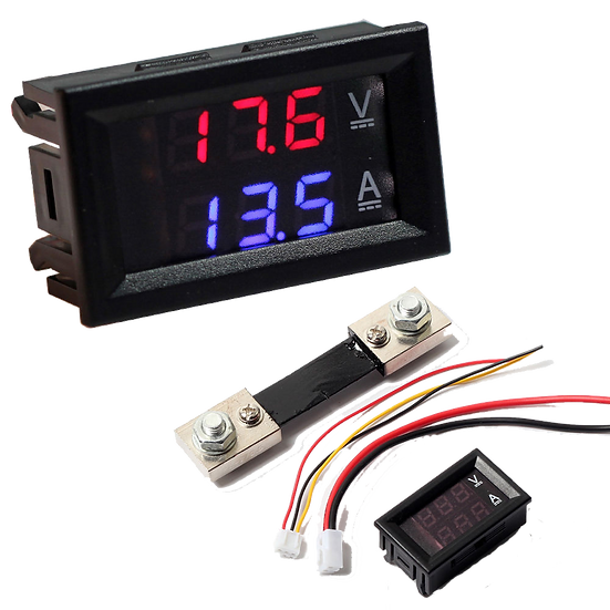 Digital Volt / Current meter (4.5-30V DC @ 50A max)