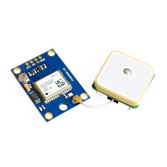 GPS receiver Module (NEO-6M) + Antenna