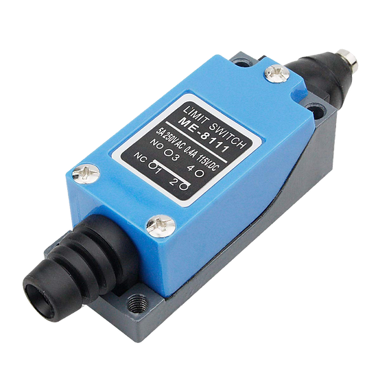 Industrial IP66 Limit switch (NO & NC)