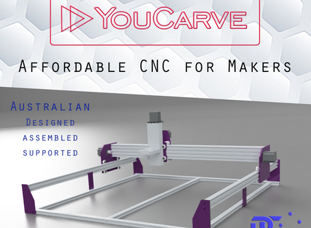 YouCarve CNC - An extremely affordable hobbyist CNC for Makers