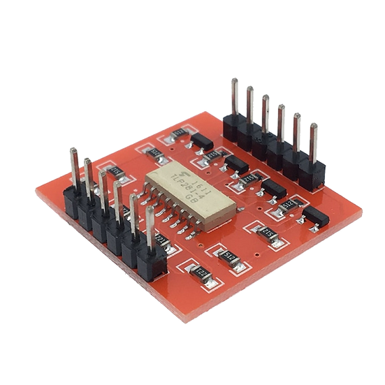 4 channel Opto isolator board