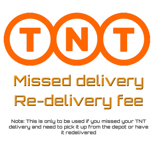 TNT Missed delivery / Re-delivery fee