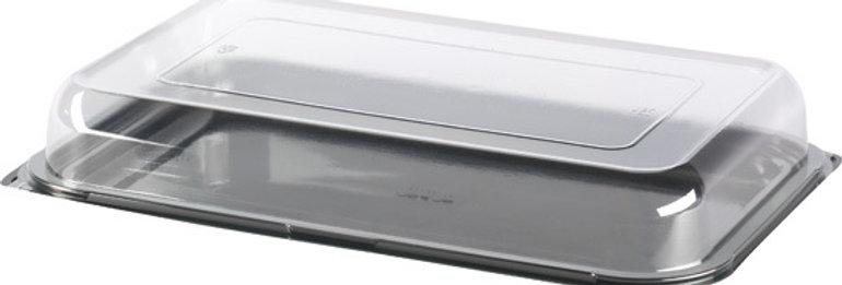 MINI CATERING PLATTER BASES & LIDS (50 PER BOX = 250mm (L) X 180 (W) X 70mm (D)