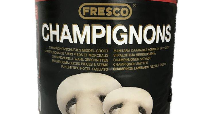 FRESCO SLICED MUSHROOMS (2250g x 6)