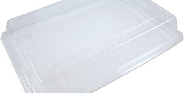SMALL CATERING PLATTER LIDS (50 PER BOX = 340mm (L) X 250mm (W) X 70mm (D)