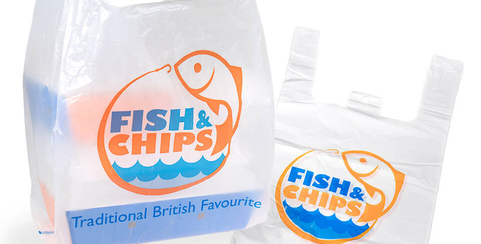 FISH & CHIP LARGE VEST CARRIER (x100)