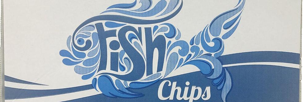MEDIUM FISH & CHIP BOX (x100)