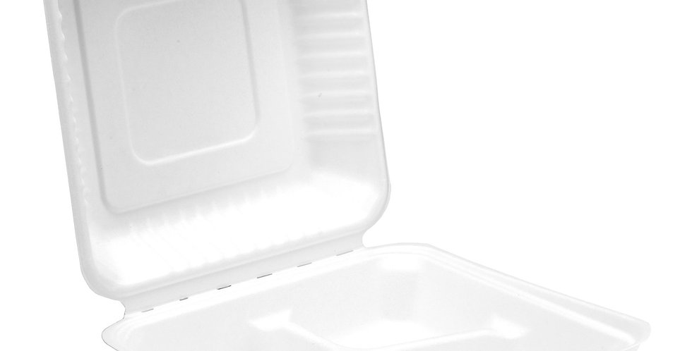 3 compartment food box (250 per box)