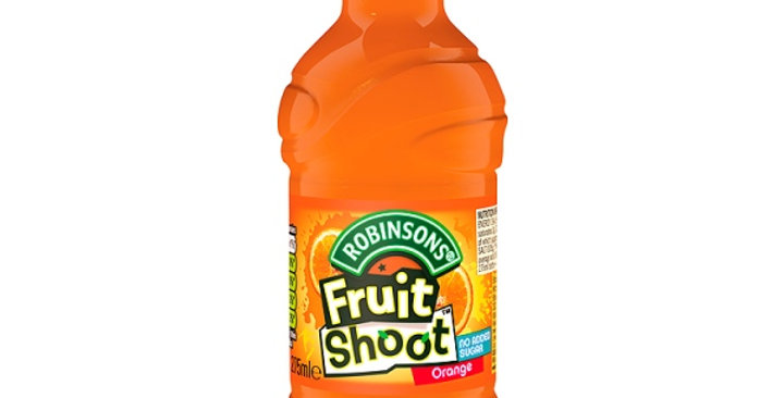 FRUIT SHOOT ORANGE (12x275ml)