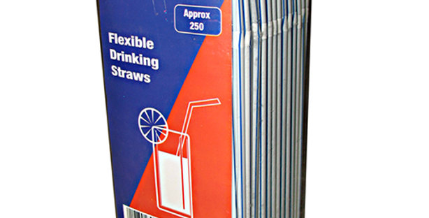 FLEX STRAWS (x250)