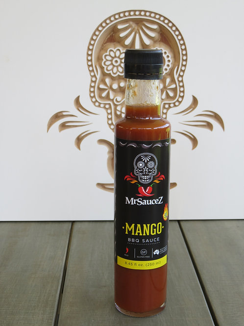 MrSauceZ Mango BBQ Sauce