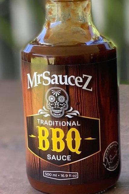 MrSauceZ BBQ Sauce 500ml TRADITIONAL