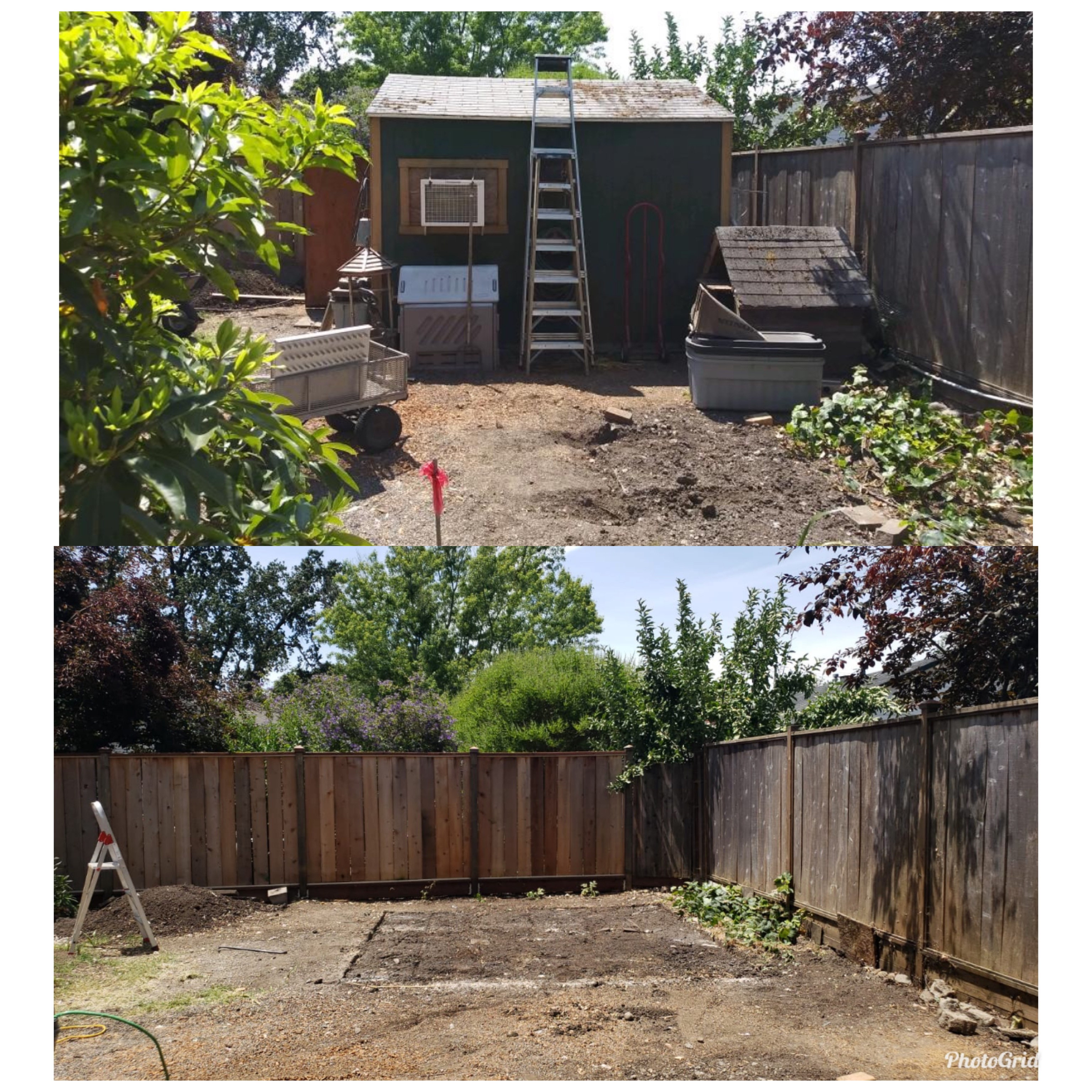 SHED REMOVAL AND DISPOSAL