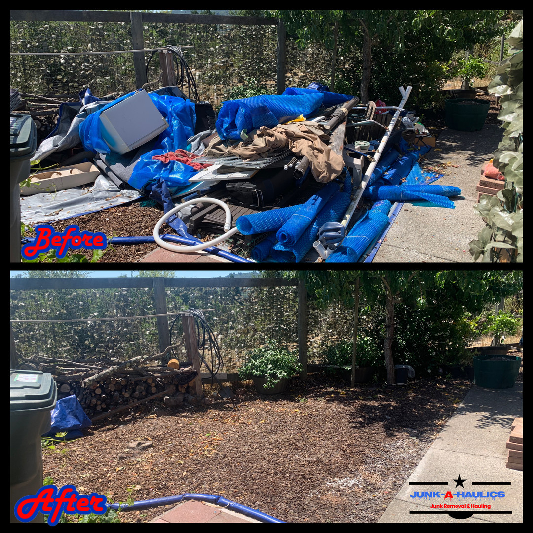 backyard debris removal