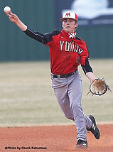 Logan Troxell throws to first.jpg