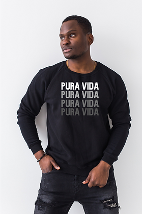 "Pura Vida ""On Repeat"" Crewneck"