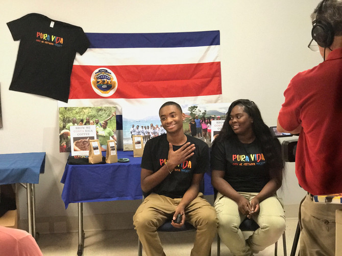 Show Me Costa Rica Students Featured in Spotlight News