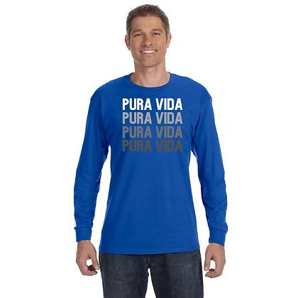 """Long Sleeve Pura Vida """"On Repeat"""" T-Shirt"""