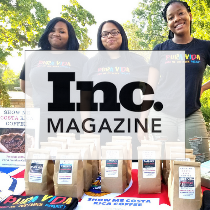 Our Students & Coffee Featured in          Inc. Magazine