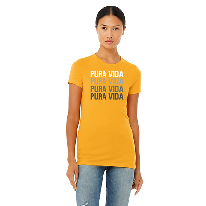 "Pura Vida ""On Repeat"" Slim Fit T-Shirt"