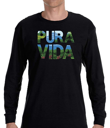 """The Arenal"" Pura Vida Long Sleeve T-Shirt"
