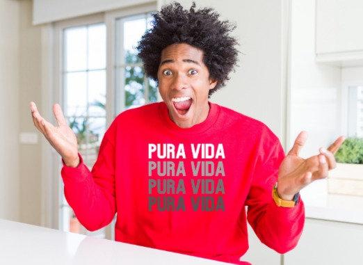 "Pura Vida ""On Repeat"" Crewneck"