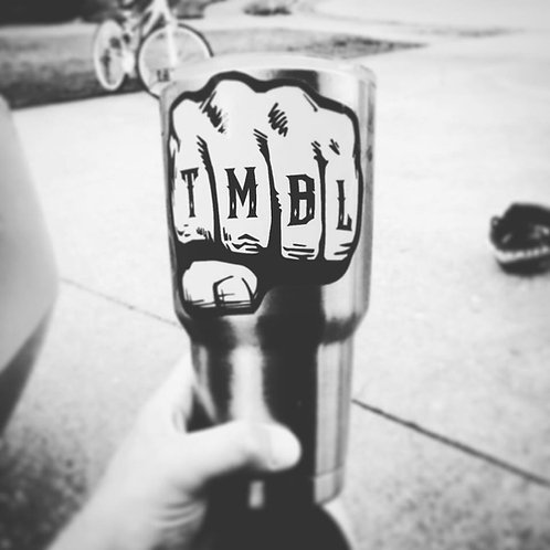 (2 Pack) TMBL Knuckle Large 4'' decal FREE SHIPPING