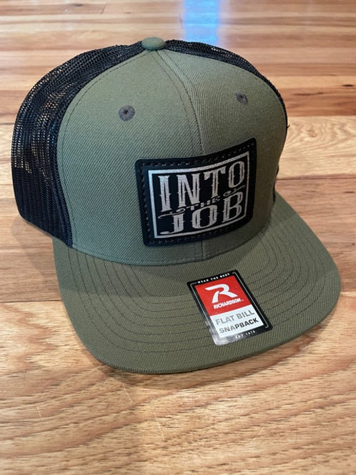 Into The Job FLATBILL Patch Hat (Loden Green/Black)