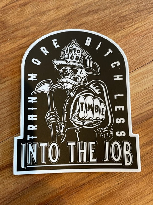 (2 Pack) Into the Job Large TMBL Sticker