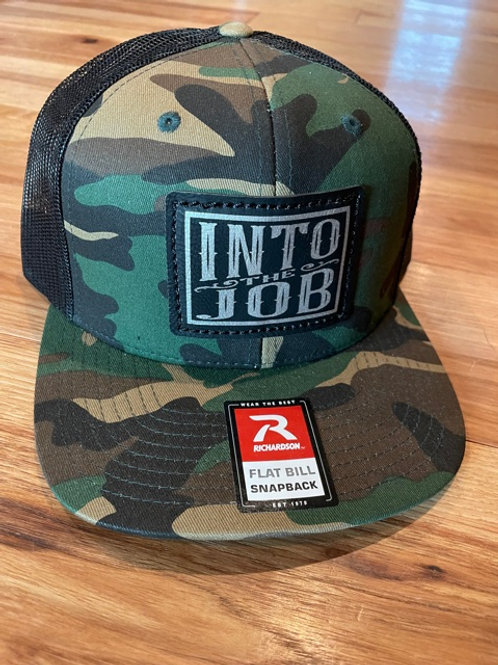 Into The Job FLATBILL Patch Hat (Camo)