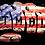 Thumbnail: (2 PACK) TMBL Knuckle AMERICAN FLAG Helmet Decal