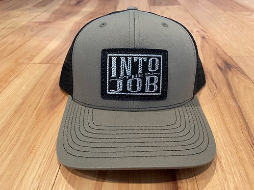 Into the Job Leather Patch HAT (Loden Green)